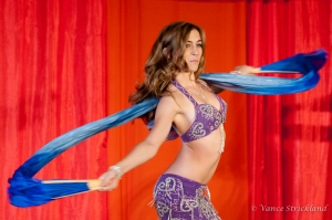 Victoria Teel at Austin Belly Dance Convention 2009