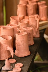 Sherwood Forest Summer Camp 2015 - pottery