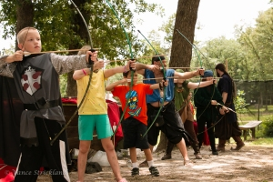 Sherwood Forest Summer Camp 2015 - archery