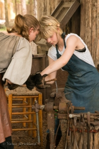Sherwood Forest Summer Camp 2015 - blacksmithing
